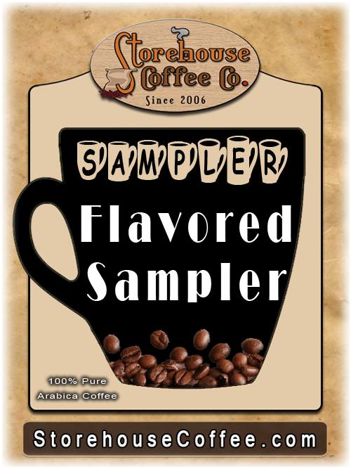 Two rivers flavored sampler pack single-cup coffee for keurig k.