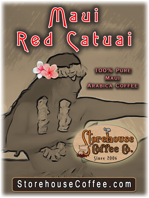 Maui Red Catuai 5 Lb Bag Storehouse Coffee