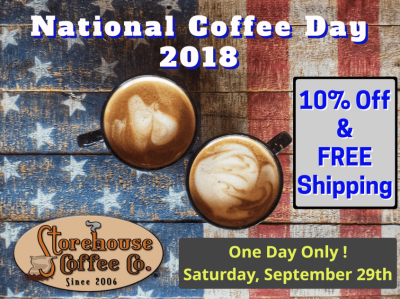 National Coffee Day - 2018