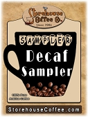 Decaf Coffee Sampler