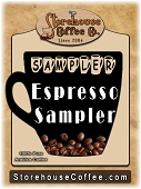 Espresso Coffee Sampler